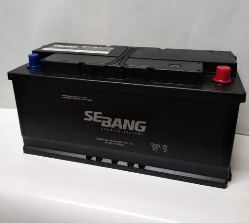 Akumulator 12V 110Ah 850A Sebang