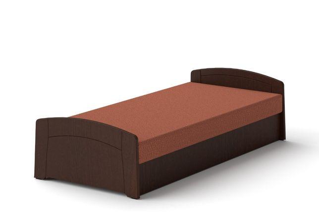 Łóżko M 90 x 200 Wenge tapczan z materacem