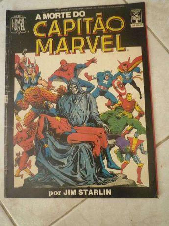 Sérei Graphic marvel Editora Abril Nº3 A Morte do Capitão Marvel