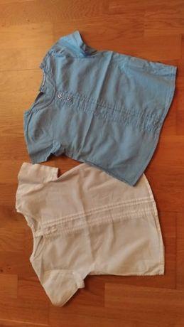 2 bluzeczki Coccodrillo r.110
