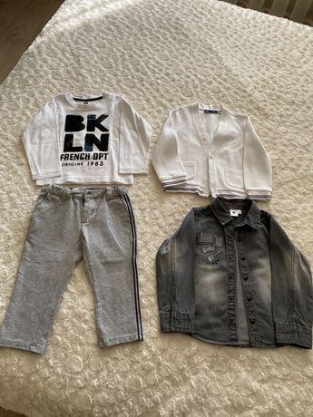 Как новые - штаны, кофта, реглан, рубашка - 86см iDo, Original Marines