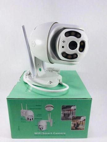 Уличная камера видеонаблюдения WIFI IP 360/90 FullHD 64gb.
