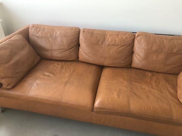 Sofa 3-os. Skóra licowa