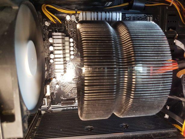 Игровой компьютер на Ryzen 7 1700 16x2 ddr4 R9 270x 4gb hdd