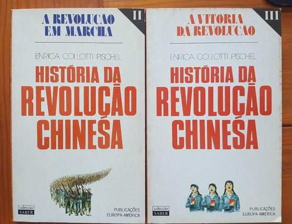 Enrica Colloti Pischel, História da Revolução Chinesa vol. II e I
