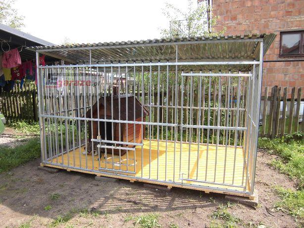 BEZPIECZNY Wzmocniony kojec dla psa OCYNK dowolny wymiar i rodzaj