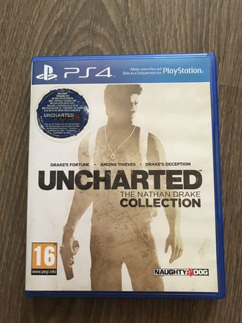 Gra PS4 Uncharted The Nathan Drake Collection
