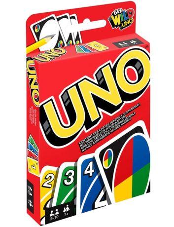 Настольная игра UNO оригинал (Уно) Mattel W2085