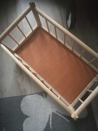 Łóżeczko dla lalek i wózek