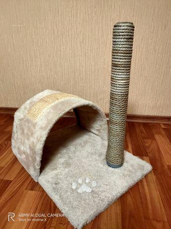 продам домик для кошки с когтеточкой
