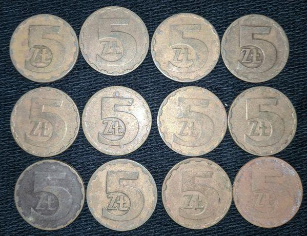 5 злотых 1976-1987