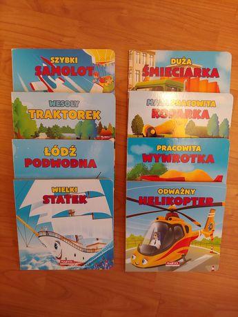 Ksiazeczki paka seria samoloty auta