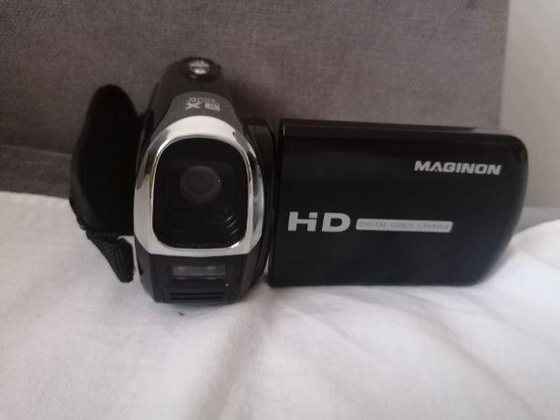 Kamera maginon HD z lampą  8x Digital zoom na baterie