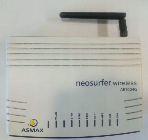 Router ADSL2 + Asmax AR 1004g Wireless