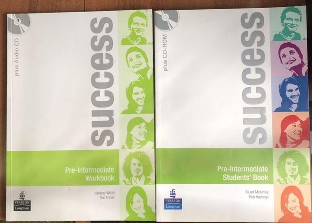 Successs - Pre intermediate workbook and student's book