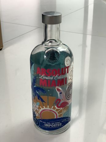 Absolut Miami limited edition