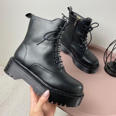 Мартинсы,зимние ботинки