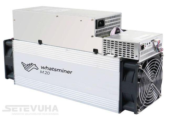 Asic-майнер MicroBT Whatsminer M20S 68Т (65/68/70 Th/s) 3360 Вт с БП