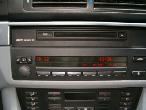 BMW 5 E39 X5 E53 Radio Business CD + MID - 100% sprawny!! komplet