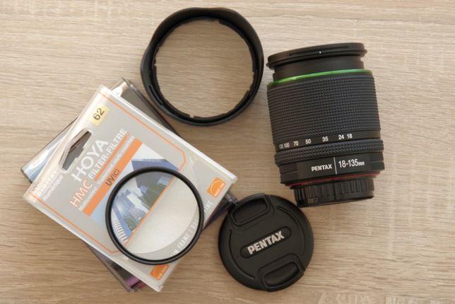 Obiektyw Pentax smc DA 18-135mm f/3.5-5.6 ED AL [IF] DC WR