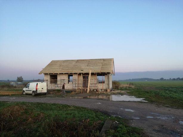 Dachy Pokrycia dachowe montaż więźba dachowa garazy z drewna tarasy