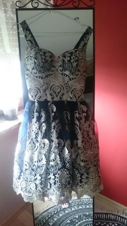 Sukienka chichi london koktajlowa na wesele chrzciny ślub suknia