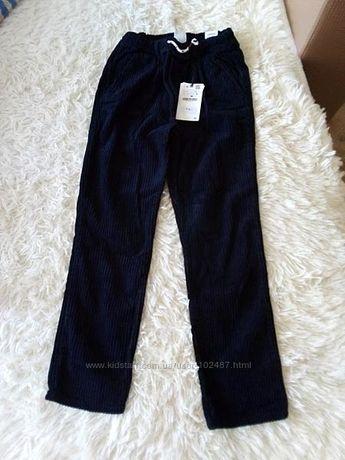 Штаны вельветовые Zara, плотные