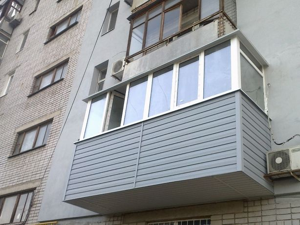 Балконы,лоджии под ключ .Сварка,обшивка,расширение.