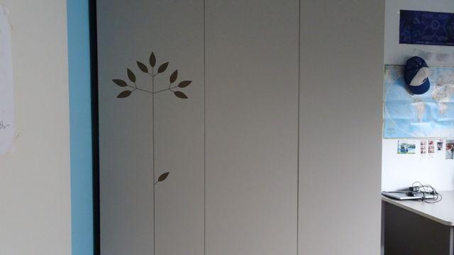 Komplet mebli VOX - szafa, regał, biurko, półka