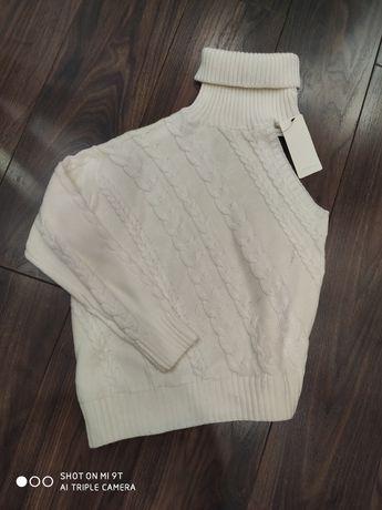 Sprzedam sweter damski biały rozmiar S