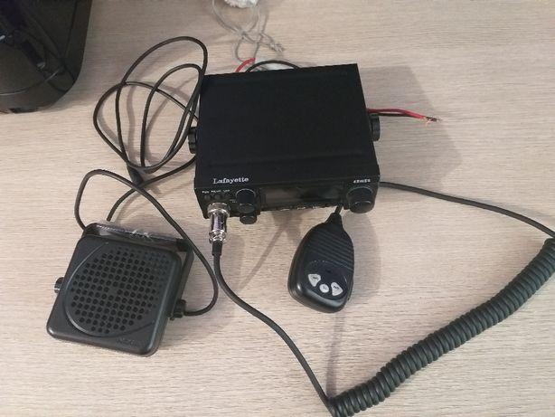 CB Radio Lafayette ERMES + głośnik zewnetrzny+antena