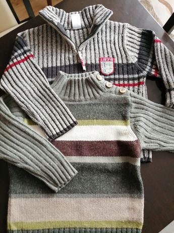 Swetereki chłopięce