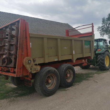 Rozrzutnik obornika przyczepa do kukurydzy