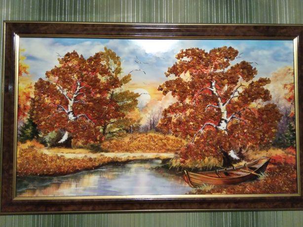Картина з бурштину (картина из янтаря)