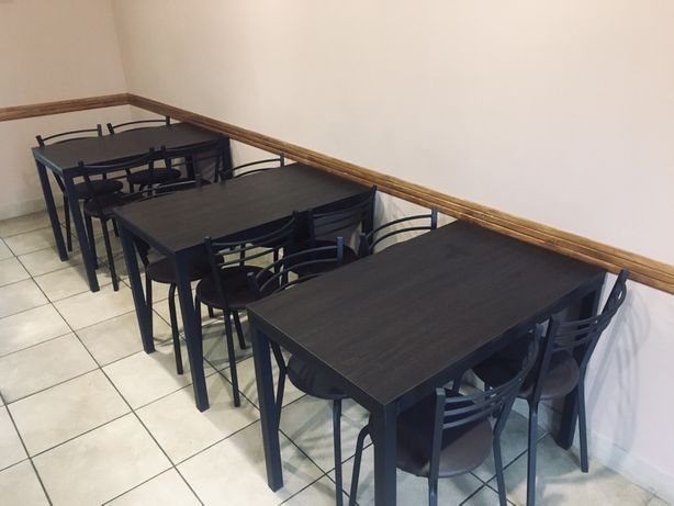Комплект столи та стільці хорошої якості