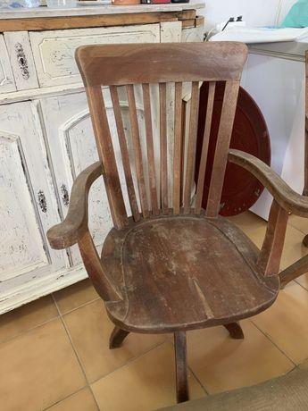Cadeiras de secretaria Vintage