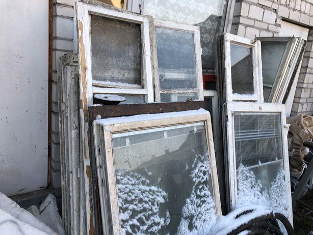 Okna drewniane oddam
