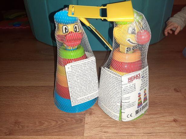 Zabawki układanki pluszaki