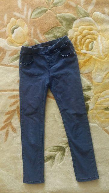 Коттоновые легенсы-брюки на 134-140 см