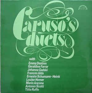 Пластинка Various - Caruso's Duets