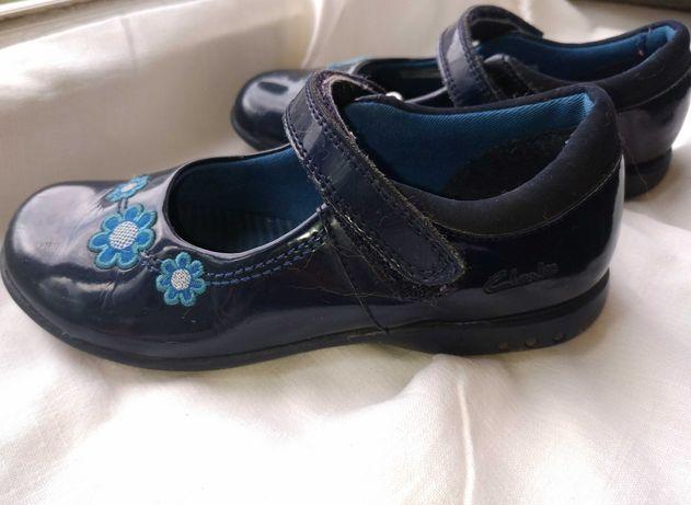 Туфельки на девочку Clark's 10р