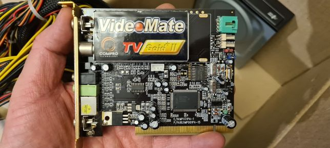 ТВ/FM радио-тюнер внутренний Compro VideoMate TV Gold Plus II