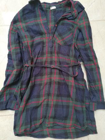 Sukienka tunika koszula Zara 146/152