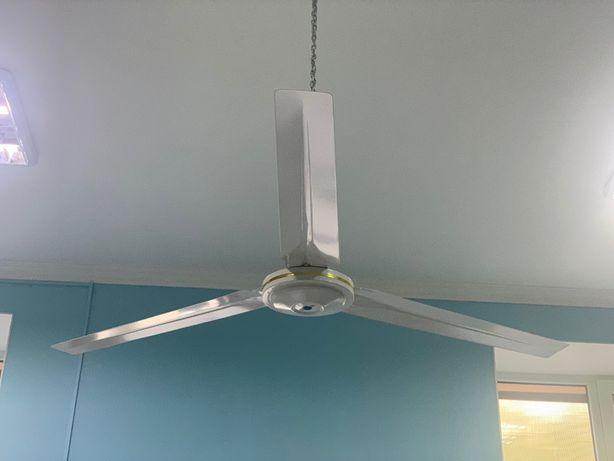 Потолочный, трёхлопастной вентилятор охлаждения Turbovent VP 140