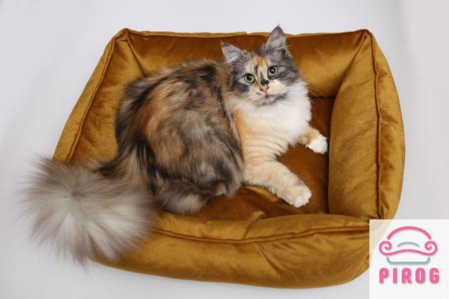 Бесплатная доставка! Лежаки, лежанки для котов и собак Велюр