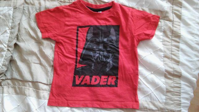 T-shirt dla chłopca Darth Vader, Star Wars 4-5 lat