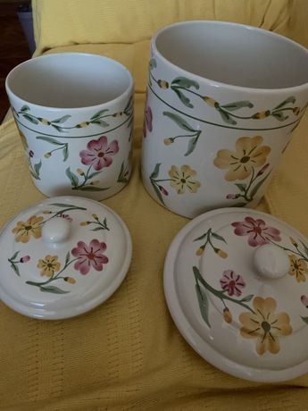 Potes de ceramica