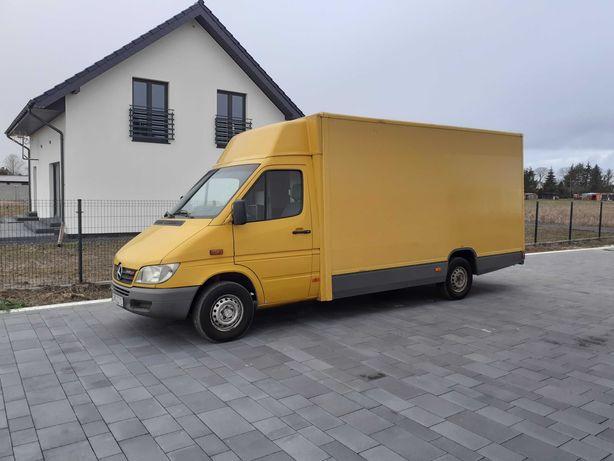 Sprinter 2003 r food truck autosklep kontener chlodnia pocztowy