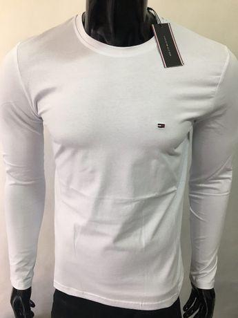 Longsleeve bluzka koszulka Tommy Hilfiger BiałaCzarnaSzaraGranat M-XXL