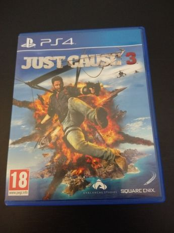 PS4 JUST CAUSE 3 c/selo igac